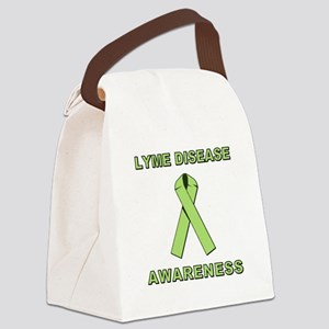 LYME DISEASE AWARENESS Canvas Lunch Bag