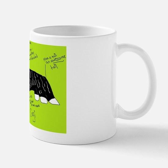 Cute Cardigan welsh corgi art Mug