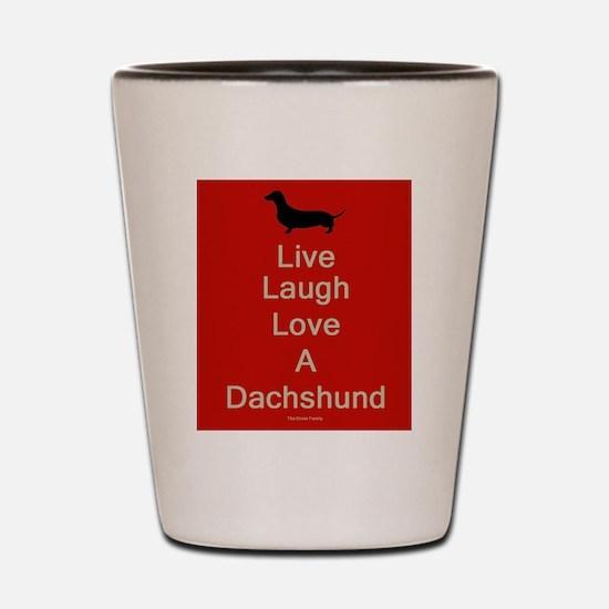Dachshund lovers Shot Glass