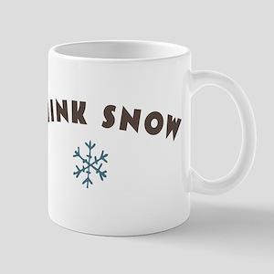 Think Snow Mugs