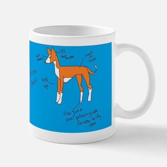 Cute Ibizan hound Mug