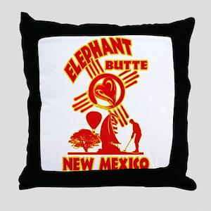 ELEPHANT BUTTE LOVE Throw Pillow