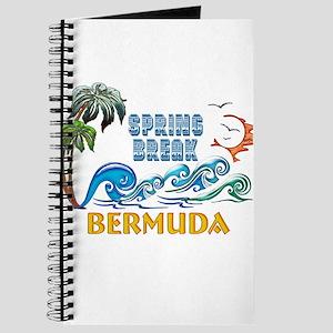 3D Palms Waves Sunset Spring Break BERMUDA Journal