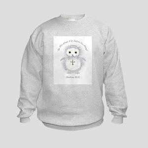 Be Not Afraid Matthew 28:20 Kids Sweatshirt