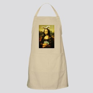 Mona Lisa, The Easter Bunny Apron