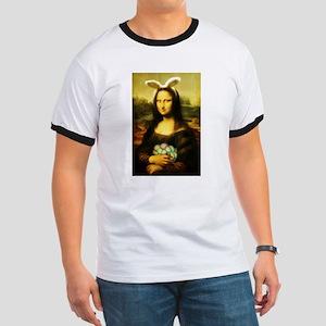 Mona Lisa, The Easter Bunny T-Shirt