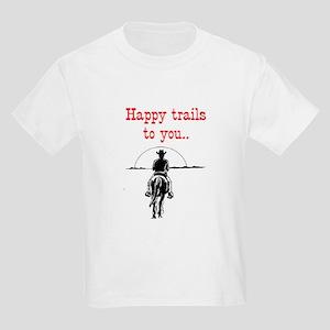 HAPPY TRAILS Kids Light T-Shirt