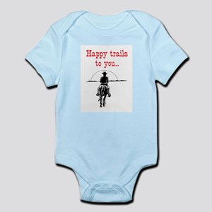 HAPPY TRAILS Infant Bodysuit
