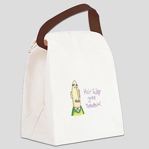 BALDING MAN Canvas Lunch Bag