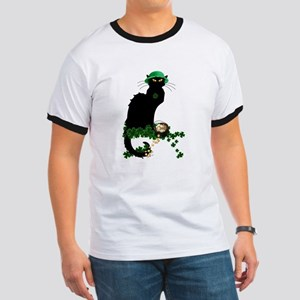 Le Chat Noir, St Patricks Day T-Shirt