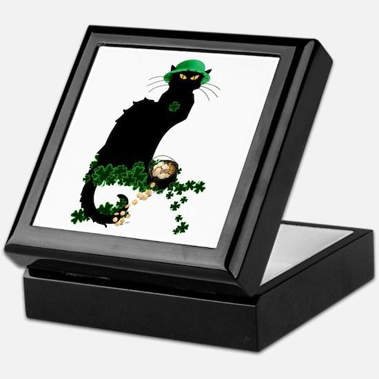 Le Chat Noir, St Patricks Day Keepsake Box