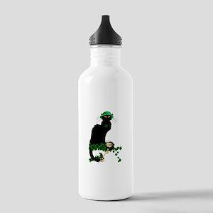 Le Chat Noir, St Patri Stainless Water Bottle 1.0L