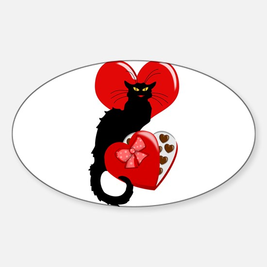 Le Chat Noir with Chocolate Candy Gift Decal