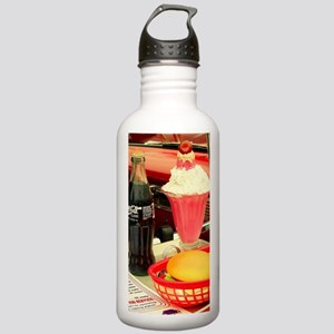 vintage rockabilly bur Stainless Water Bottle 1.0L