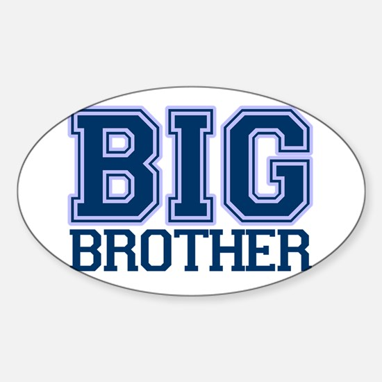 big brother varsity Oval Decal
