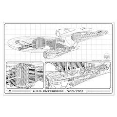 New Enterprise Cutaway Posters