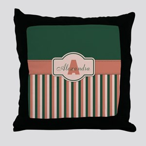 Stripes2015A2 Throw Pillow