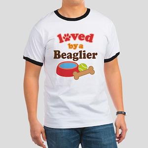 Beaglier Dog Lover Ringer T