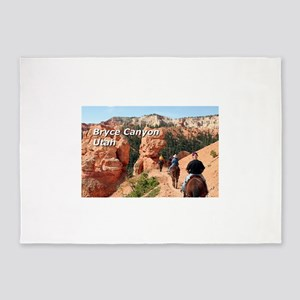 Bryce Canyon, Utah, USA 2 (caption 5'x7'Area Rug