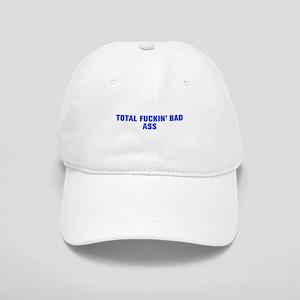 Total fuckin bad ass-Akz blue Baseball Cap