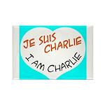 1 je suis charlie I am charlie Magnets