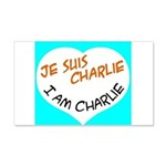 1 je suis charlie I am charlie Wall Decal