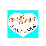 1 je suis charlie I am charlie Postcards (Package