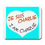 1 je suis charlie I am charlie Mousepad