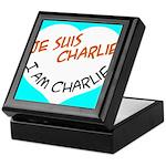 1 je suis charlie I am charlie Keepsake Box