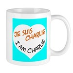 1 je suis charlie I am charlie Mugs