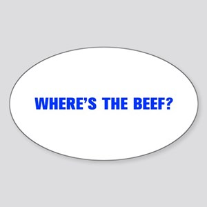 Where s the Beef-Akz blue Sticker