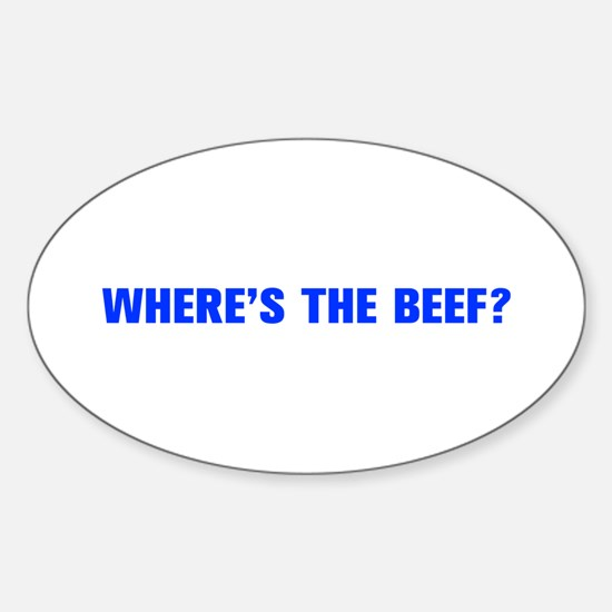 Where s the Beef-Akz blue Decal