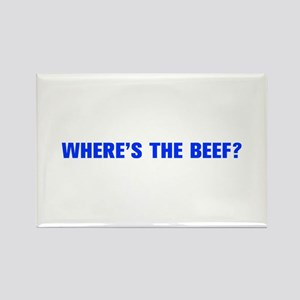 Where s the Beef-Akz blue Magnets