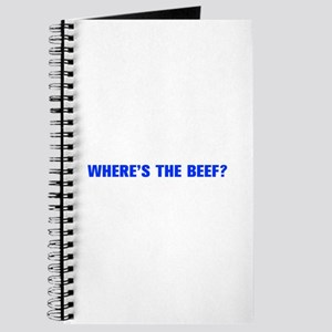 Where s the Beef-Akz blue Journal