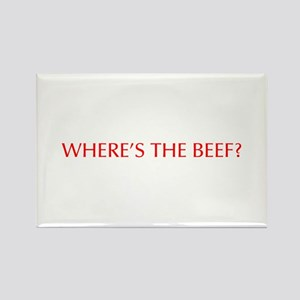 Where s the Beef-Opt red Magnets