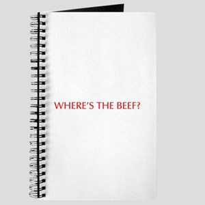 Where s the Beef-Opt red Journal