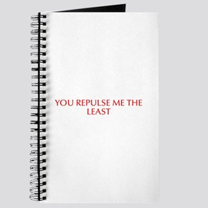 You repulse me the least-Opt red Journal