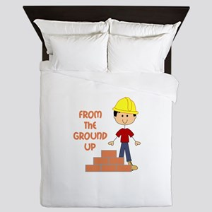 FROM THE GROUND UP Queen Duvet