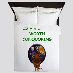 alien invasion Queen Duvet