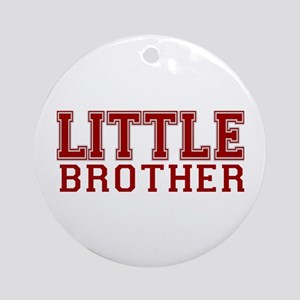 little brother varsity Ornament (Round)