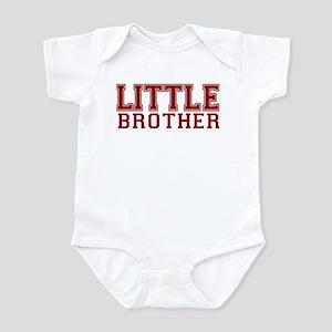 little brother varsity Infant Bodysuit