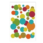 Retro Dots Postcards (Package of 8)