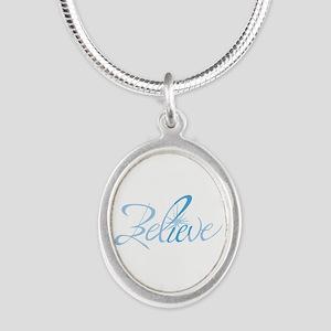 BELIEVE LETTERING Necklaces