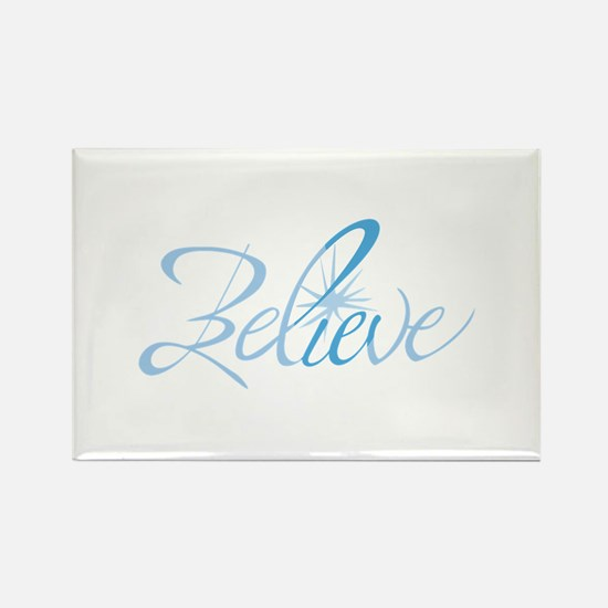 BELIEVE LETTERING Magnets