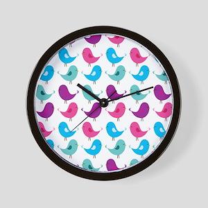 Little Birds Wall Clock
