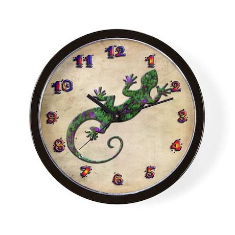 Ivy Green Gecko Wall Clock