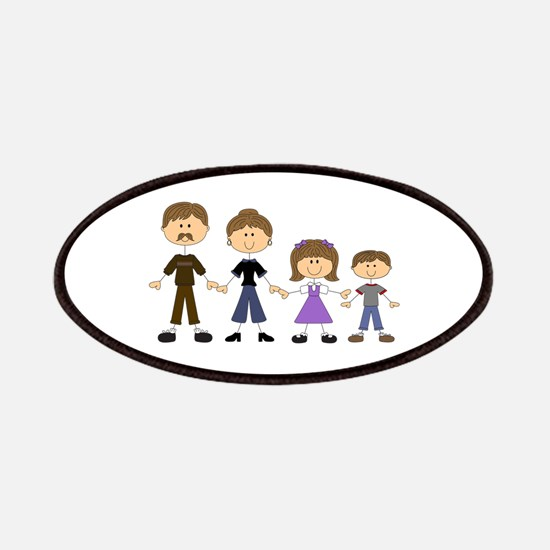 STICK FIGURE FAMILY Patches