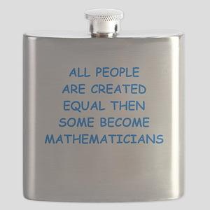 mathematicians Flask
