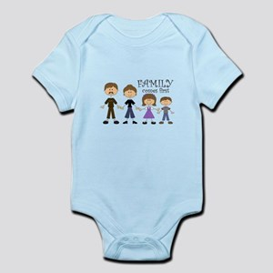 Family Comes First Body Suit