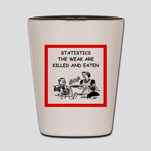 statistics Shot Glass